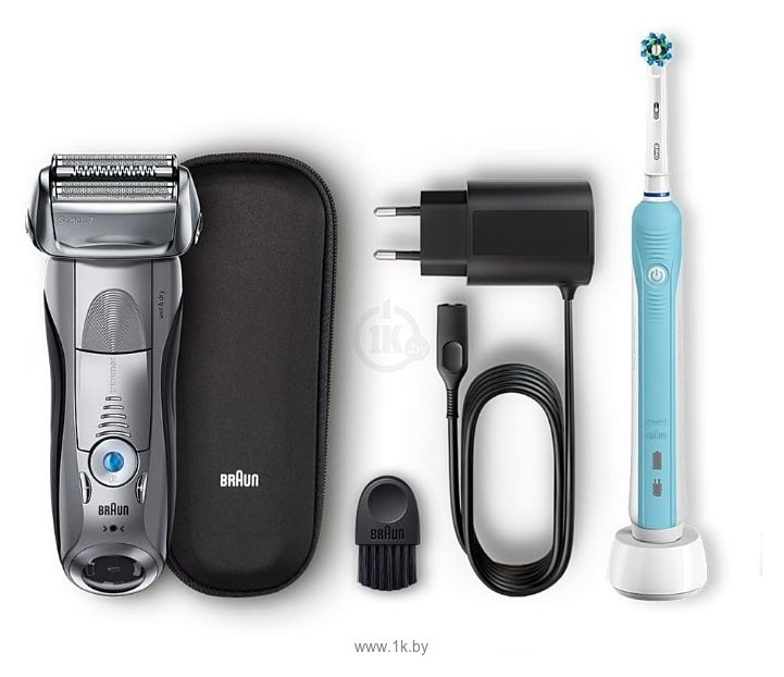 Фотографии Braun 7893s Series 7 + OralB PRO500