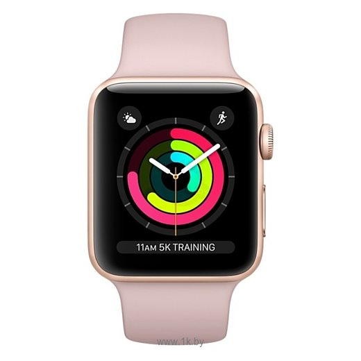 Фотографии Apple Watch Series 3 38mm Aluminum Case with Sport Band