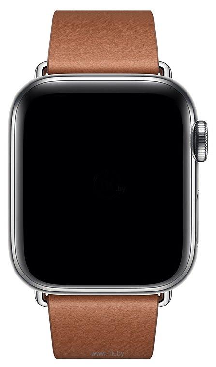 Фотографии Apple с современной пряжкой 40 мм (золотисто-коричн., размер M) MWRD2