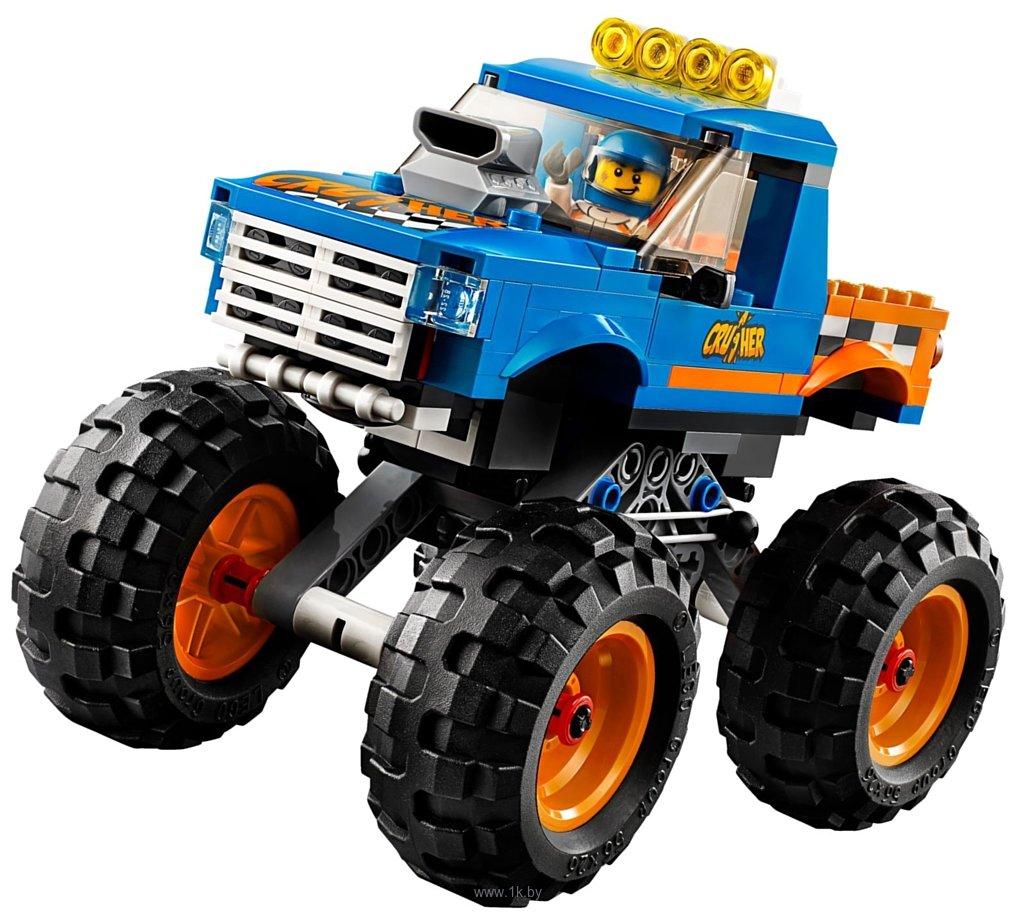 Фотографии LEGO City 60180 Монстрогрузовик