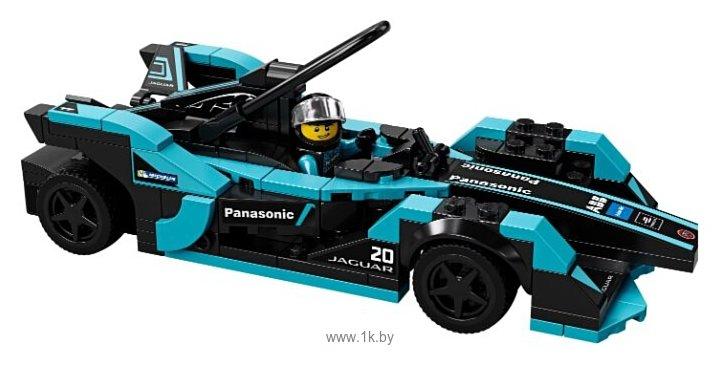Фотографии LEGO Speed Champions 76898 Formula E Panasonic Jaguar Racing GEN2 car & Jaguar I-PACE eTROPHY