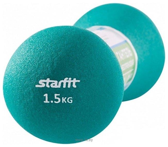 Фотографии Starfit DB-202 1.5 кг (бирюзовый)