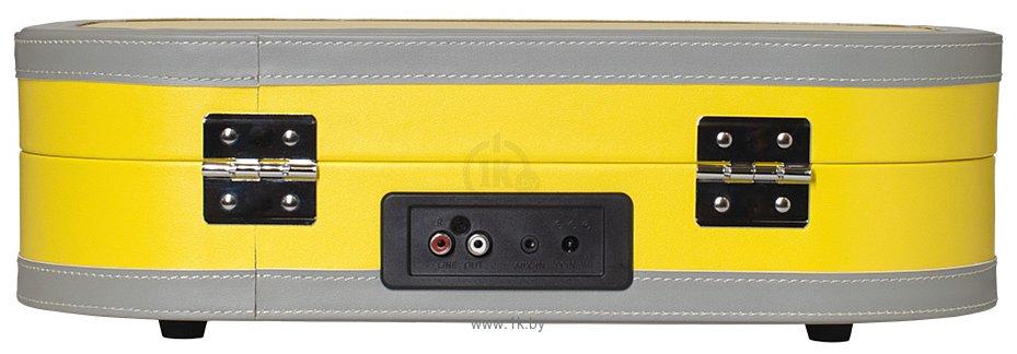 Фотографии Alive Audio Vintage (жёлтый) с Bluetooth