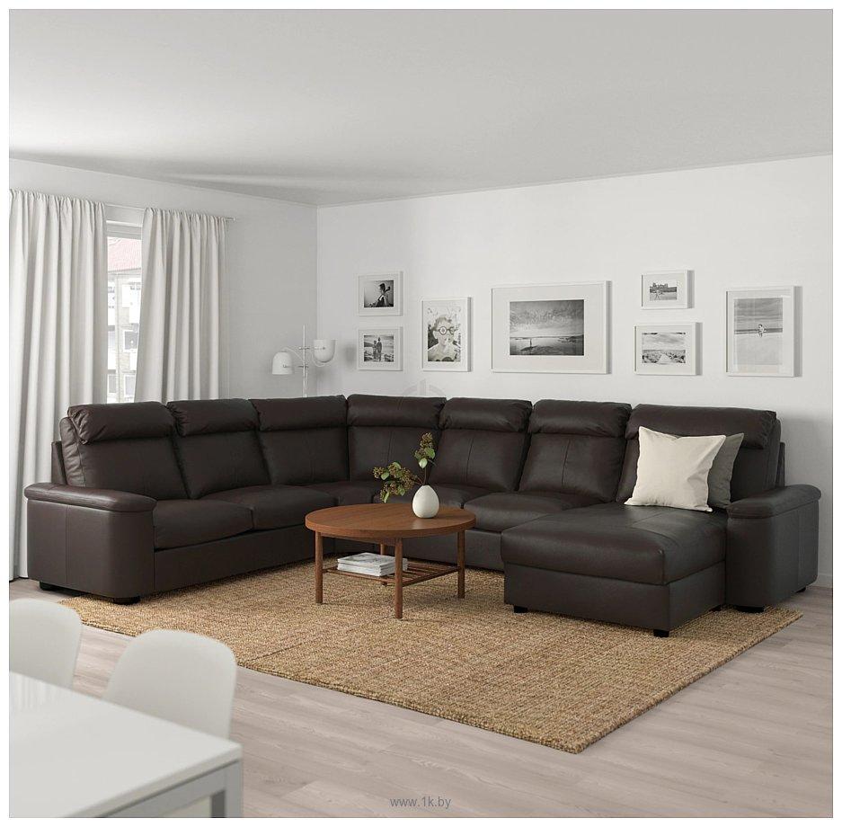 Фотографии Ikea Лидгульт 392.572.64 (гранн/бумстад темно-коричневый)