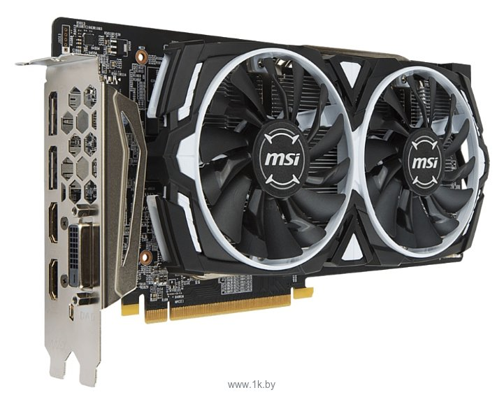 Фотографии MSI Radeon RX 580 1340Mhz PCI-E 3.0 8192Mb 8000Mhz 256 bit DVI 2xHDMI HDCP Armor