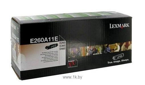 Фотографии Аналог Lexmark E260A11E