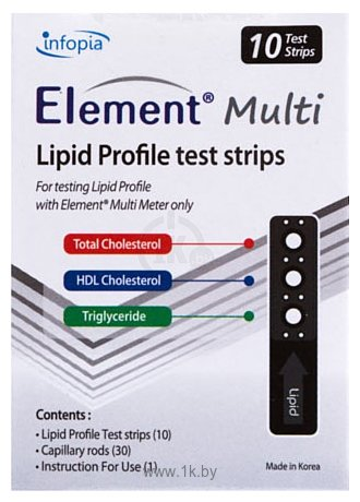 Фотографии Infopia Element Multi Lipid Profile 10 шт.