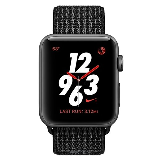 Фотографии Apple Watch Series 3 Cellular 38mm Aluminum Case with Nike Sport Loop