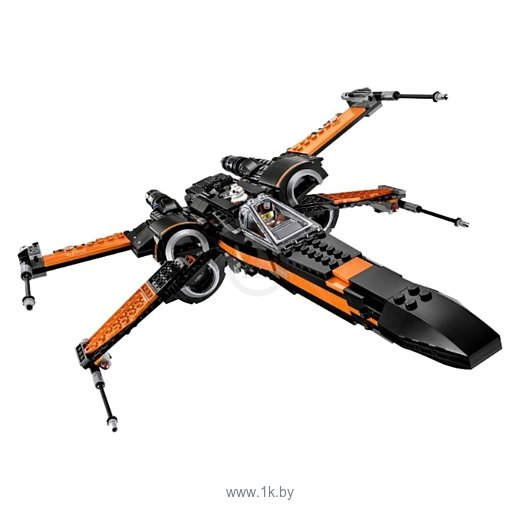 Фотографии BELA Space Wars 10466 X-Wing T-70 истребитель По Дамерона