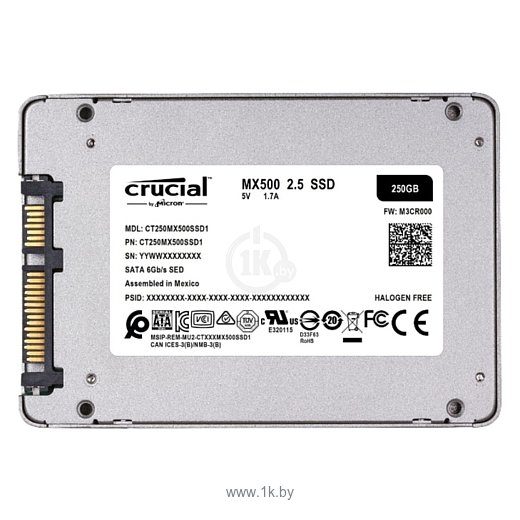 Фотографии Crucial CT250MX500SSD1
