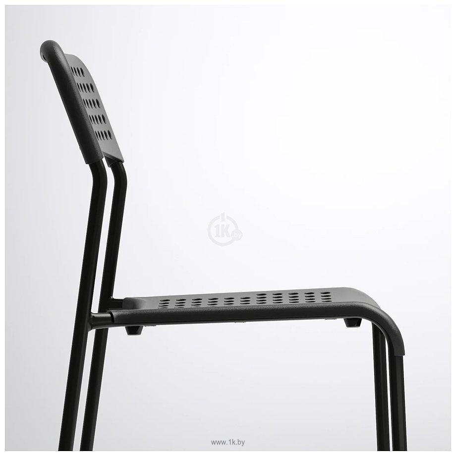 Фотографии Ikea Адде (черный) (603.608.67)