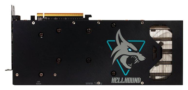 Фотографии PowerColor Hellhound Radeon RX 6700XT 12GB (AXRX 6700XT 12GBD6-3DHL)
