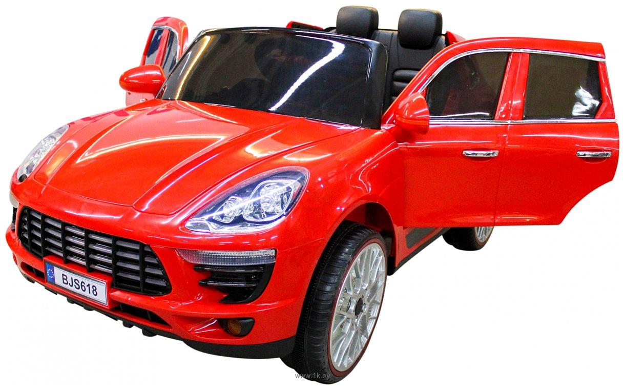 Фотографии Sundays Porsche Macan (красный)