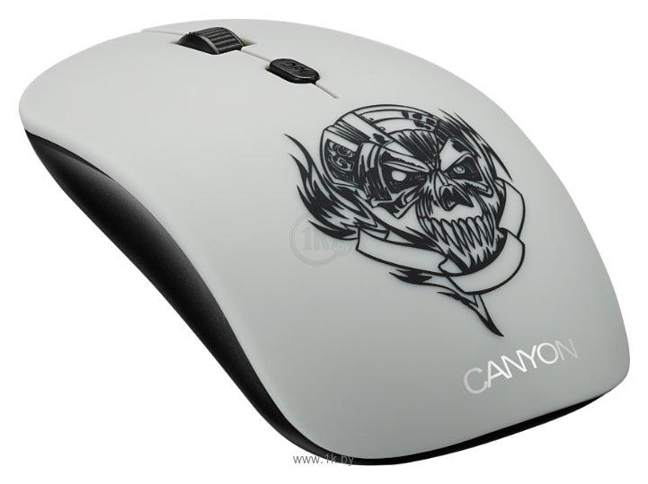 Фотографии Canyon CND-CMSW401MC Metallica White USB