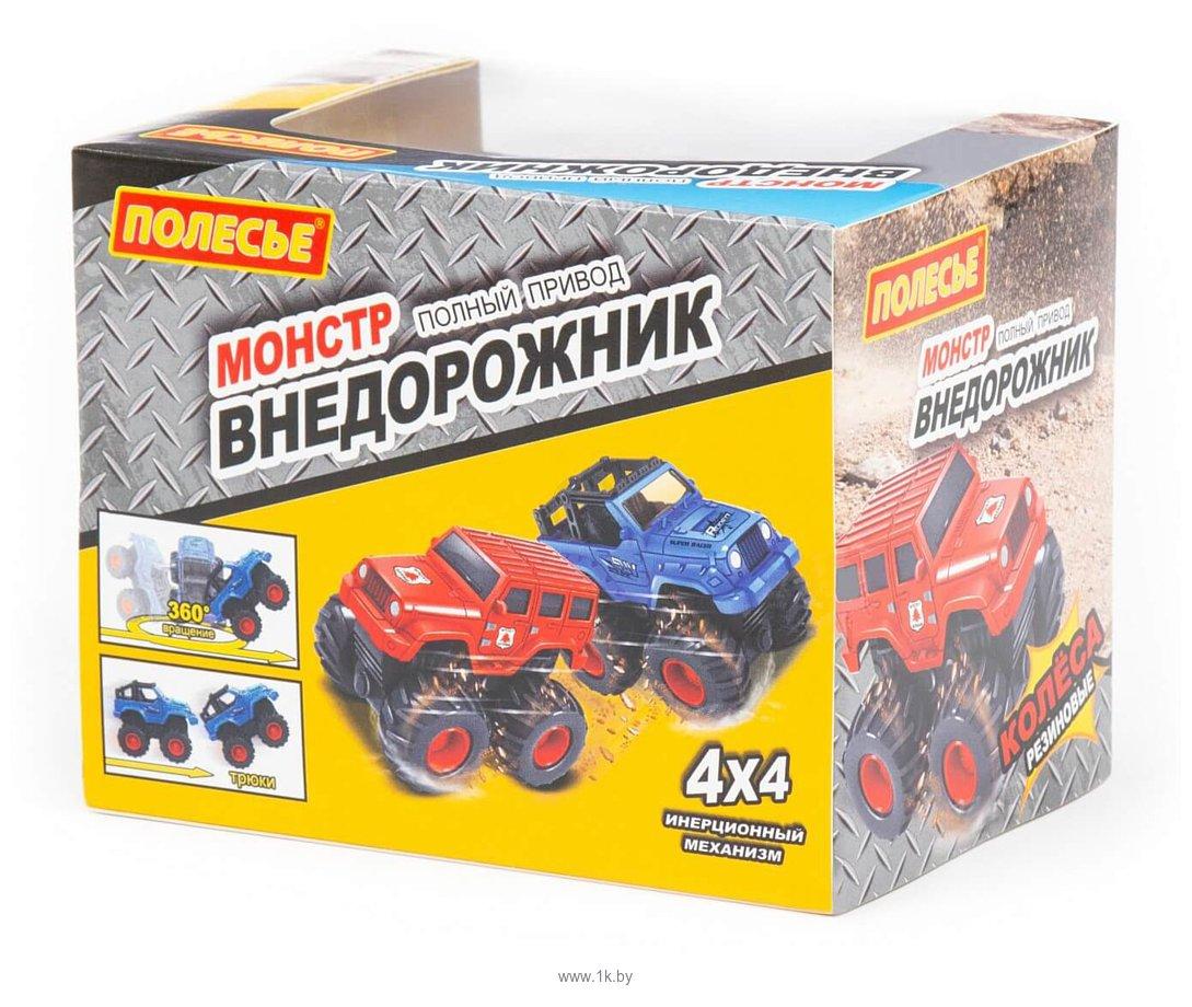 Фотографии Полесье Монстр внедорожник-грузовик инерционный 78827
