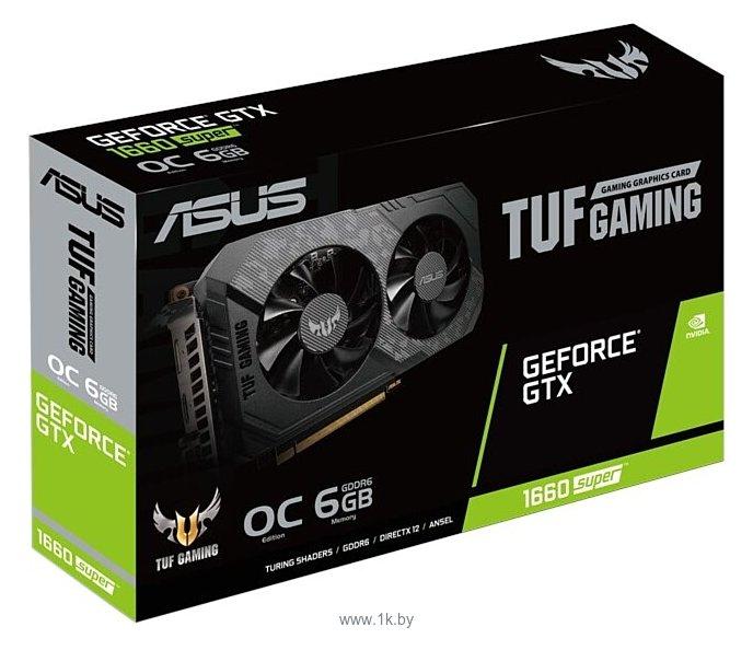 Фотографии ASUS TUF GeForce GTX 1660 SUPER Gaming OC