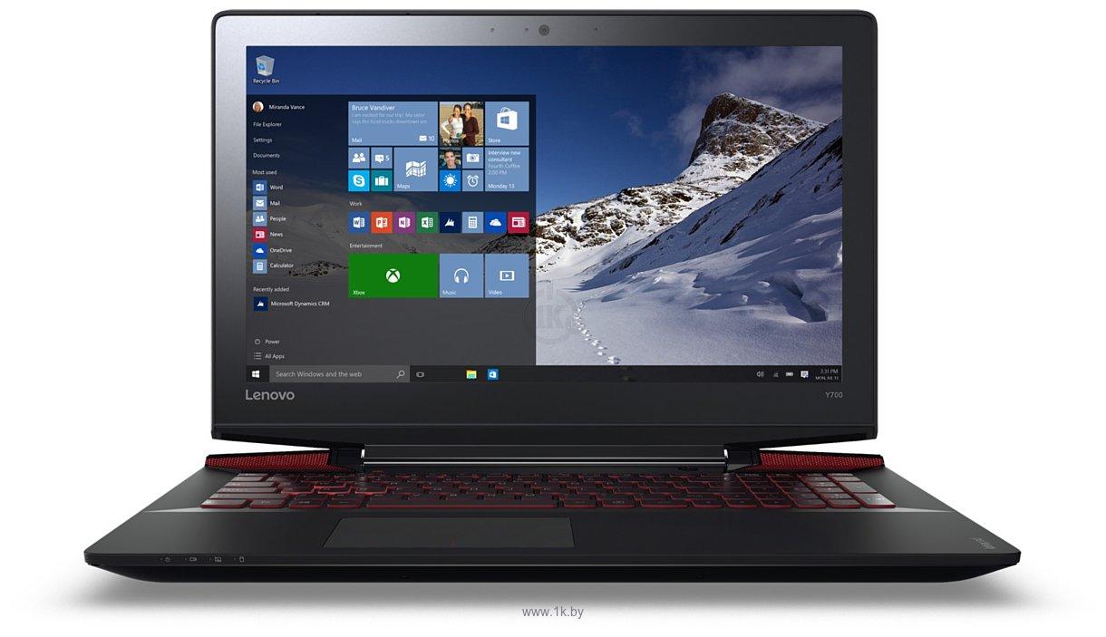 Фотографии Lenovo Y700-15 (80NV00DBPB)