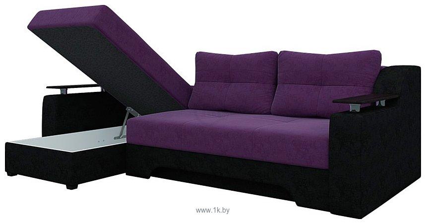 Фотографии Mebelico Сенатор (фиолетовый/черный) (A-57755)