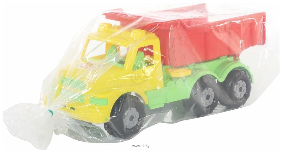 Фотографии Полесье Буран №1 автомобиль-самосвал (жёлто-красный) 43627