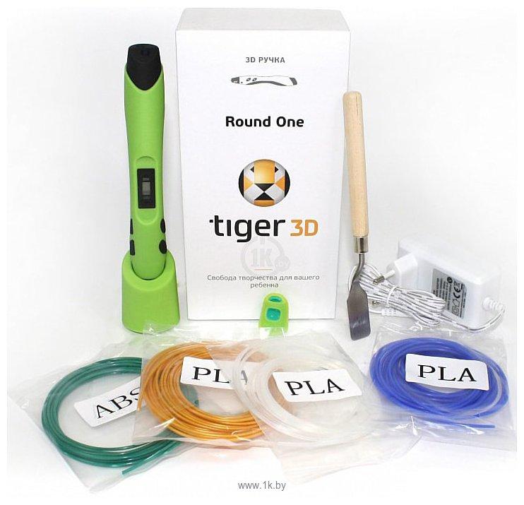 Фотографии Tiger3D Round One (зеленый)