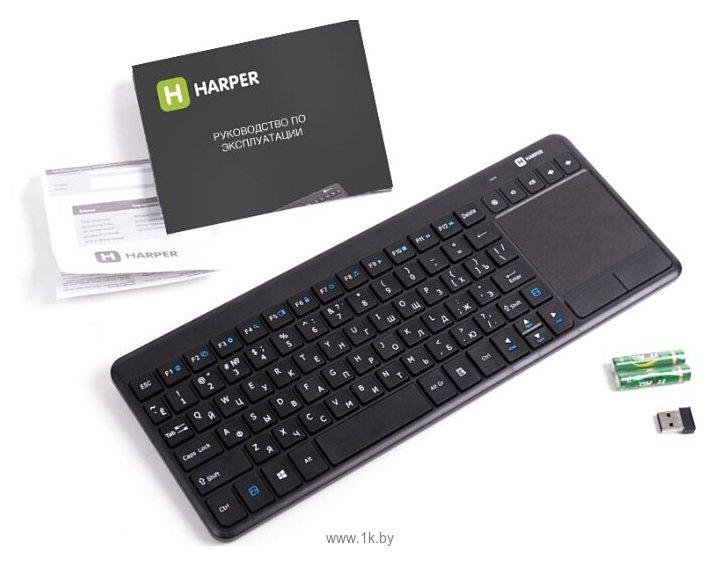 Фотографии HARPER KBT-101 Black USB