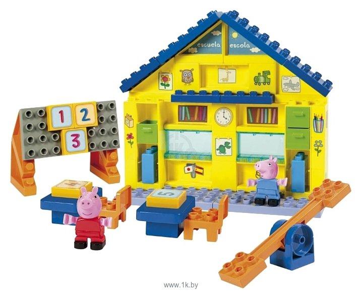 Игра свинка пеппа стройть дом