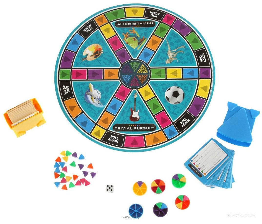 Фотографии Hasbro Тривиал Персьют Семейное издание (Trivial Pursuit FE) (73013)