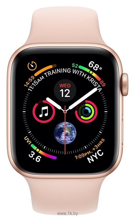 Фотографии Apple Watch Series 4 GPS 44mm Aluminum Case with Sport Band