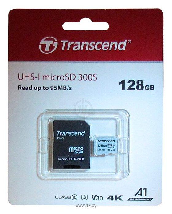 Фотографии Transcend TS128GUSD300S-A