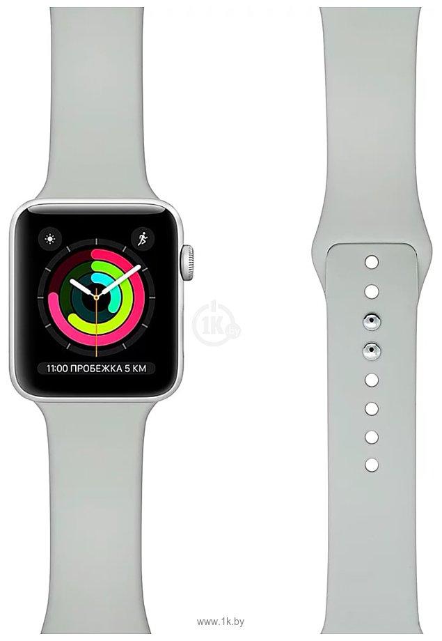 Фотографии Lyambda Altair для Apple Watch 42-44 мм (S/M и M/L, серый)