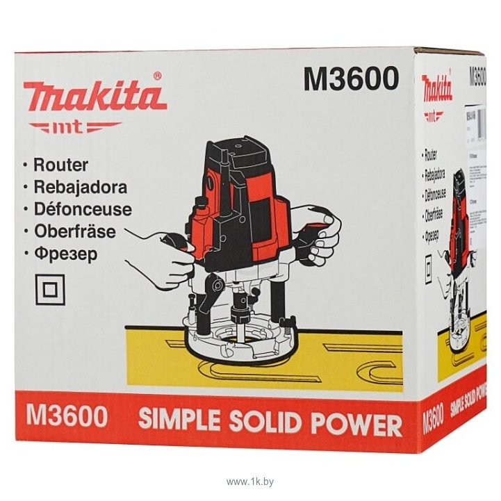 Фотографии Makita MT M3600