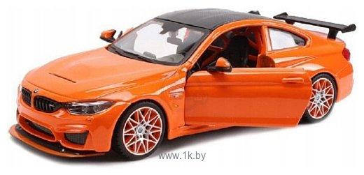 Фотографии Maisto БМВ M4 GTS 31246 (оранжевый)