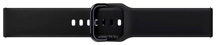 Фотографии Samsung спортивный для Galaxy Watch Active2/Watch 42mm (аква черный)