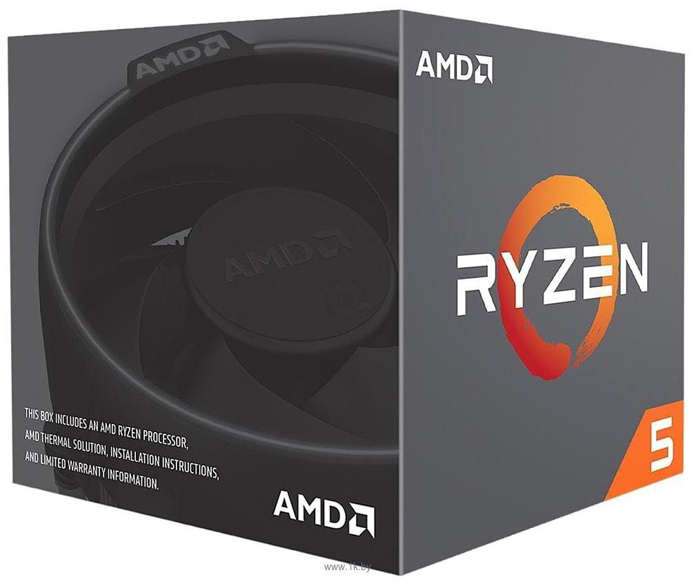 Фотографии AMD Ryzen 5 2600X Pinnacle Ridge (AM4, L3 16384Kb)