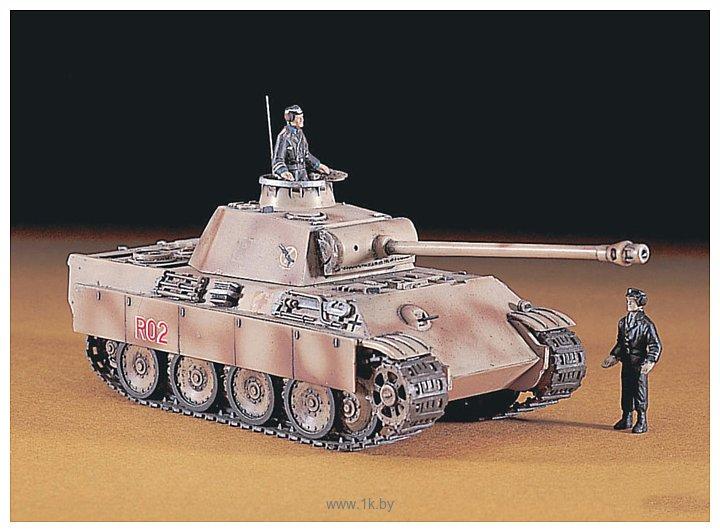 Фотографии Hasegawa Средний танк Pz.Kpfw V Panther Ausf.G