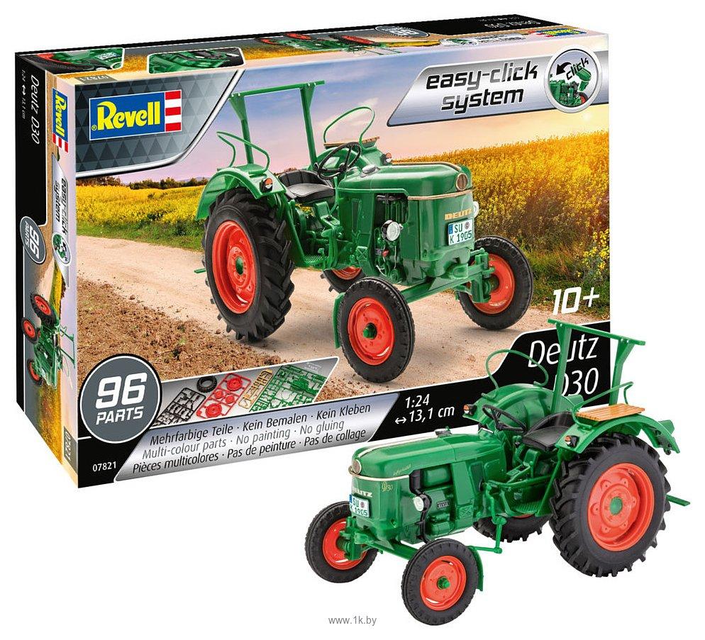 Фотографии Revell 07821 Трактор Easy-click Deutz D30
