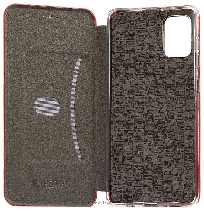 Фотографии EXPERTS WINSHELL BOOK CASE для Samsung Galaxy A71 (красный)