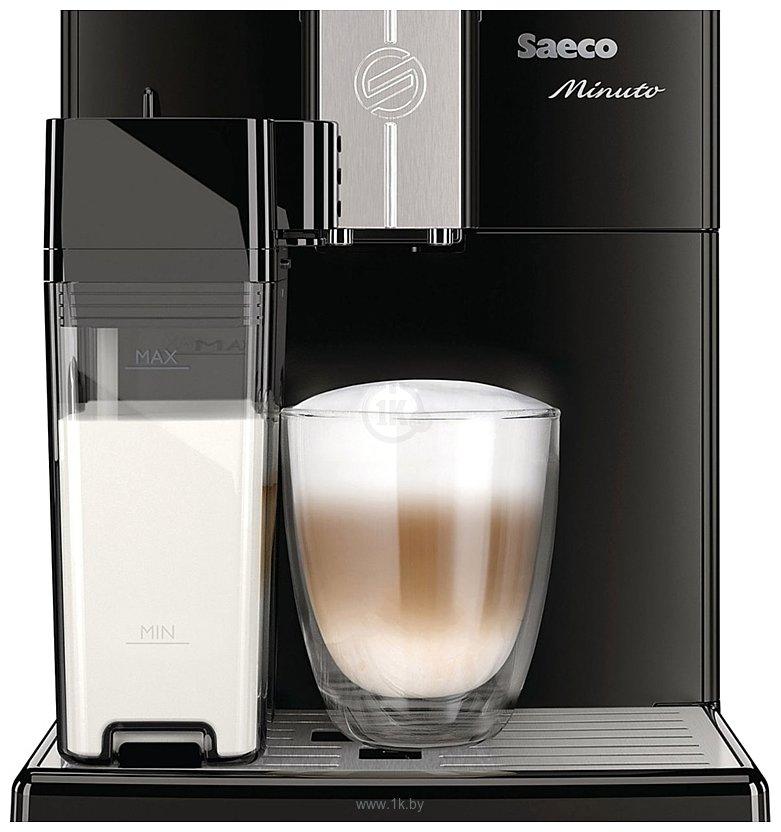 Фотографии Philips Saeco Minuto Milk Carafe Black HD 8763/09