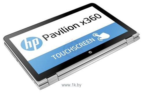 Фотографии HP Pavilion x360 15-bk001ur (W7T21EA)