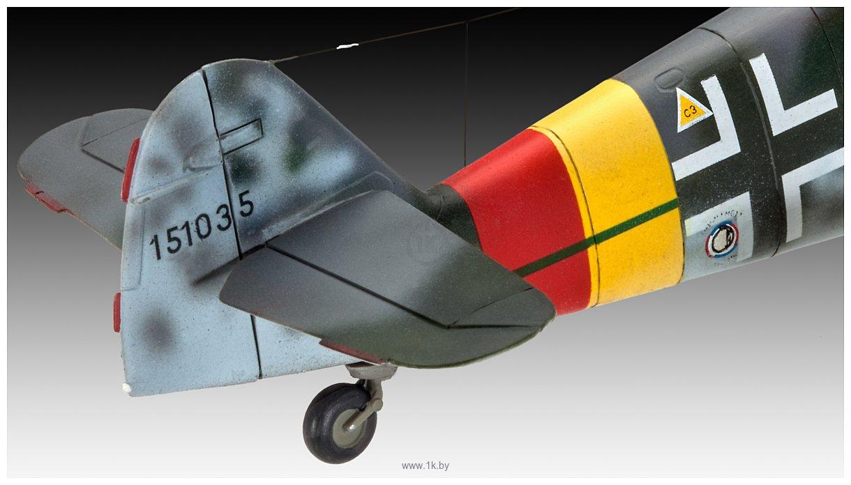 Фотографии Revell 03958 Немецкий истребитель Messerschmitt Bf109 G-10