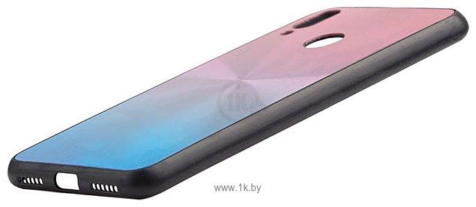 Фотографии EXPERTS SHINY TPU CASE для Huawei Y7 (2019) (сине-розовый)