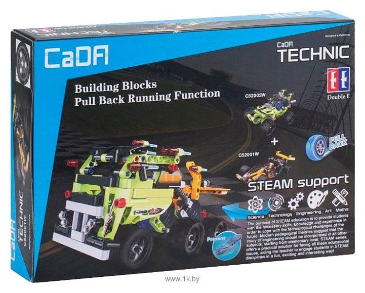 Фотографии Double Eagle CaDA Technic C52002W Пустынный гонщик
