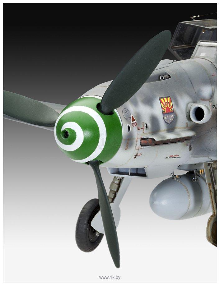 Фотографии Revell 04665 Немецкий истребитель-низкоплан Messerschmitt Bf109 G-6