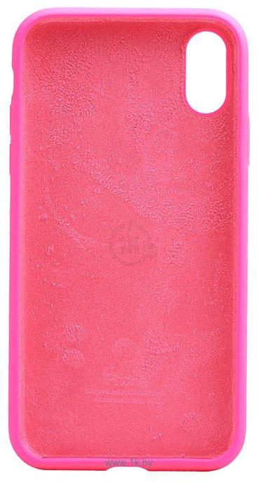 Фотографии EXPERTS SOFT-TOUCH case для iPhone X / XS (розовый)