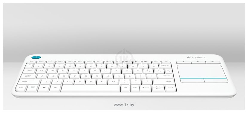 Фотографии Logitech Wireless Touch Keyboard K400 Plus White