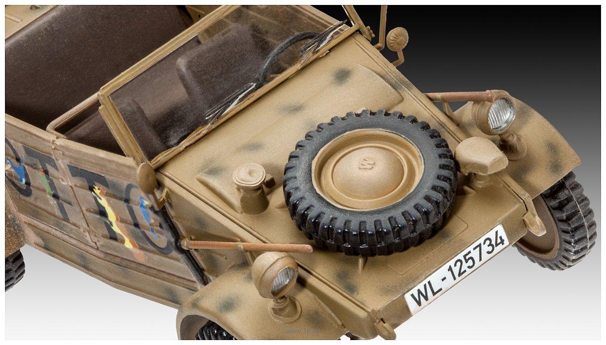 Фотографии Revell 03253 Автомобиль повышенной проходимости Type 82 Kubelwagen