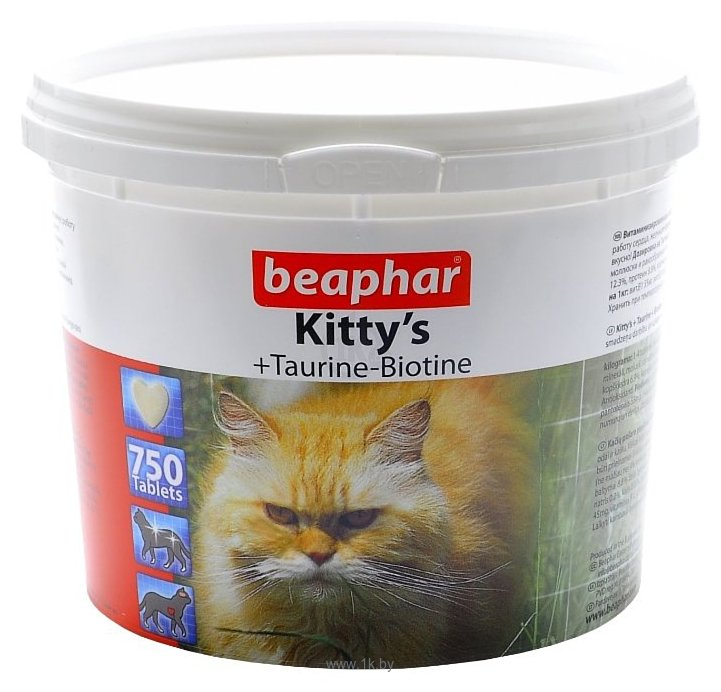 Фотографии Beaphar Kitty's Taurine + Biotin