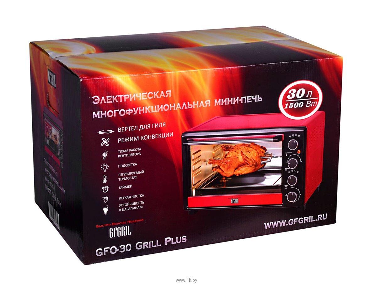 Фотографии GFgril GFO-30 Grill Plus