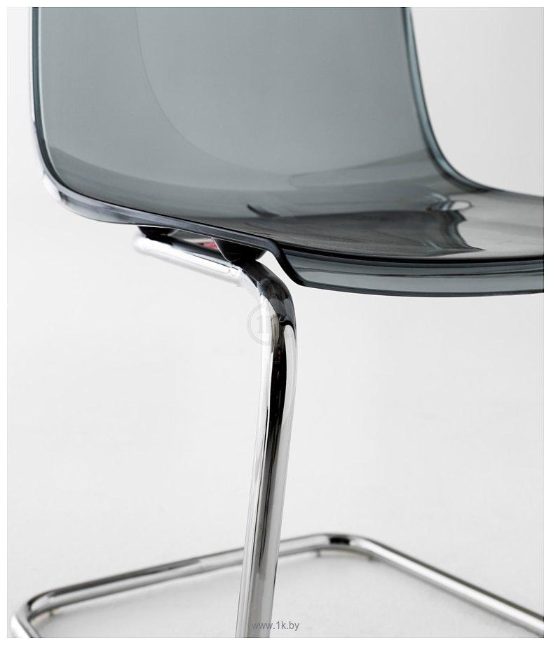 Фотографии Ikea Тобиас (серый/хром) (703.558.65)