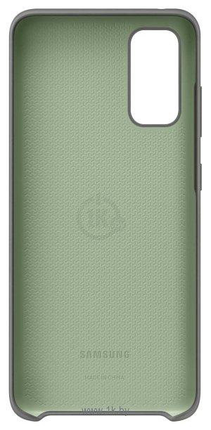 Фотографии Samsung Silicone Cover для Galaxy S20 (серый)